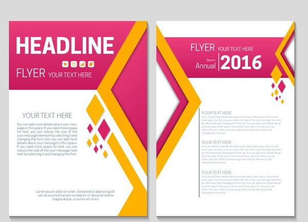 Annual report cover page free vector download (6,426 Free vector ...