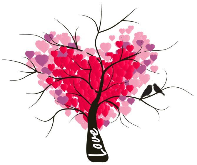 Philippe Packu - Creative love tree mind map