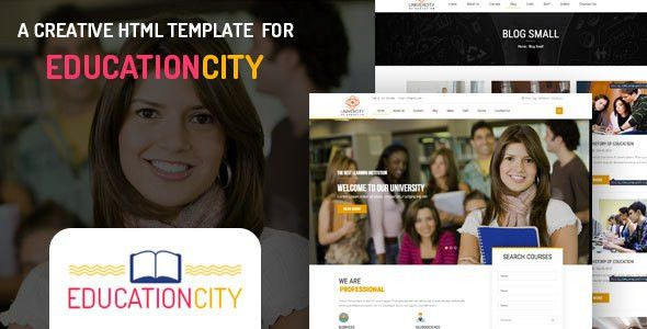 Non Profit HTML Website Templates from ThemeForest
