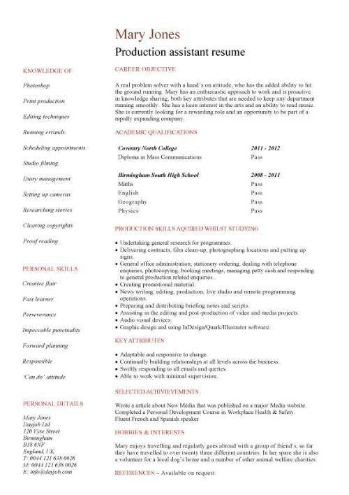 44 best resume formats images on Pinterest | Resume, Resume layout ...