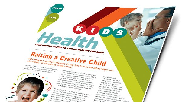 Child Care Brochures & Flyers - Word & Publisher Templates