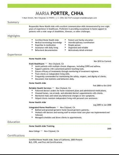 27 best Resume Samples images on Pinterest | Career, Resume and ...