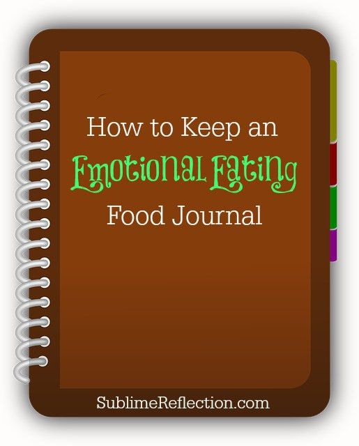 How to Keep an Emotional Eating Food Journal {Download | Food ...