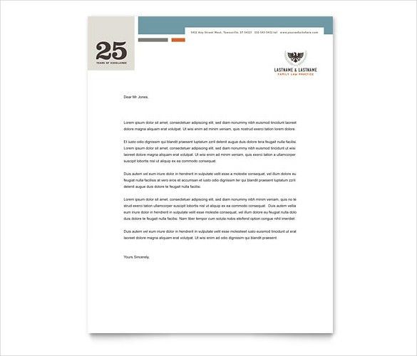 14+ Law Firm Letterhead Template - Free PSD, EPS, AI, Illustrator ...