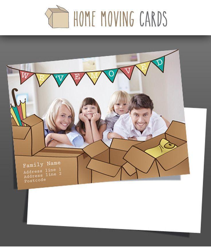22 best Change of address Cards images on Pinterest | Moving card ...