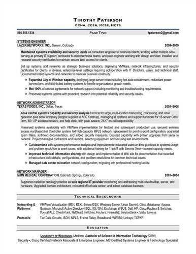 Information Security Analyst Resume Example