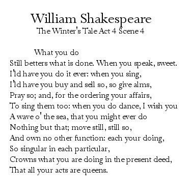 Why do Poets write Iambic Pentameter? « PoemShape