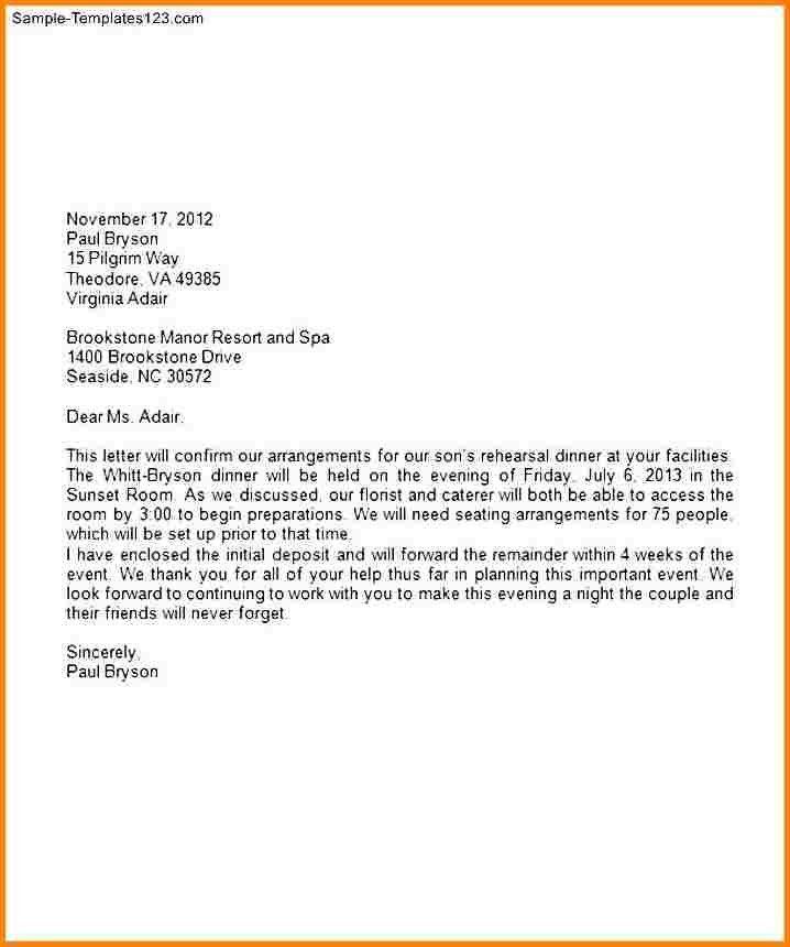 Business Letter Format Using Company Letterhead - Compudocs.us