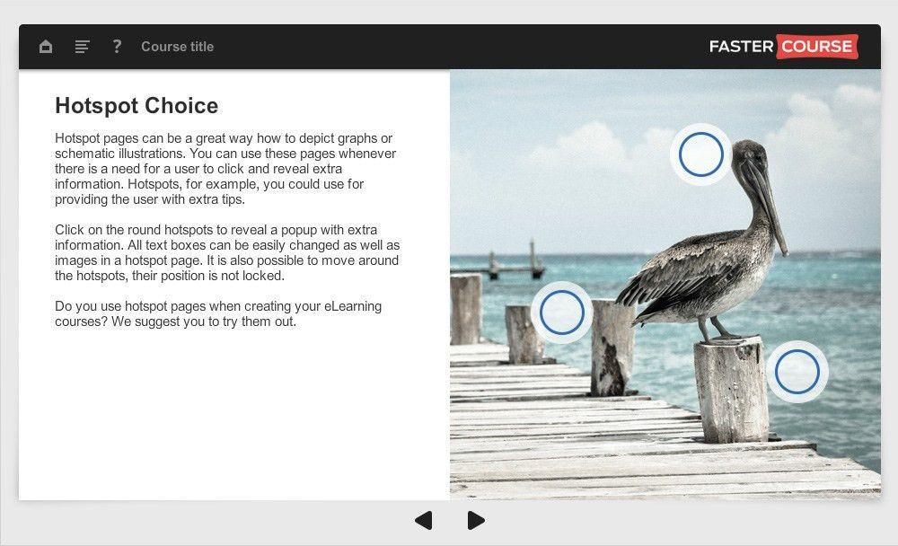 Articulate Storyline templates set - Oceanside