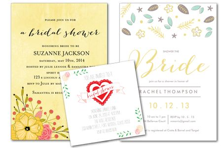 Email Online Bridal Shower Invitations that WOW! | Greenvelope.com