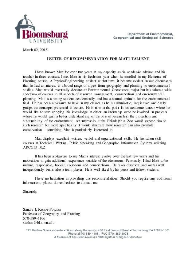 Help me write environmental studies application letter