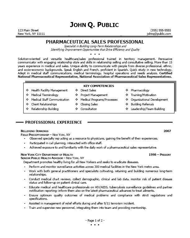 sample biodata for medical representative sales representative ...