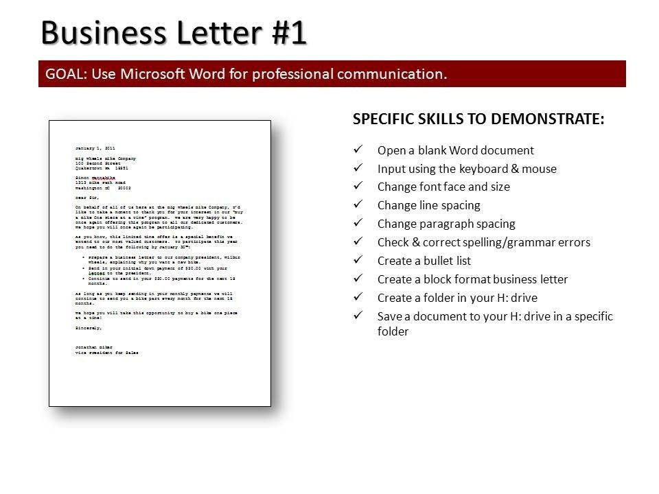 How To Format A Business Letter. Business Letter Format Sample ...