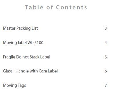 Moving & storage Labels: free complete template kit | Worldlabel Blog