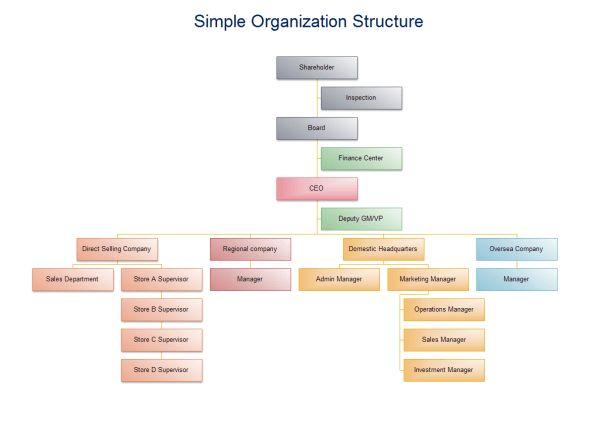 Basic Organizational Chart | Organizational Chart Solutions