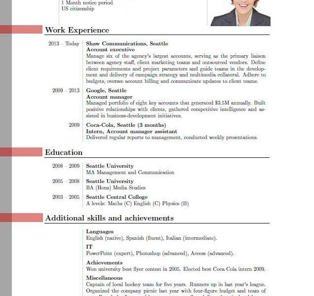 examples of resumes easy resume format sample best ever new format ...