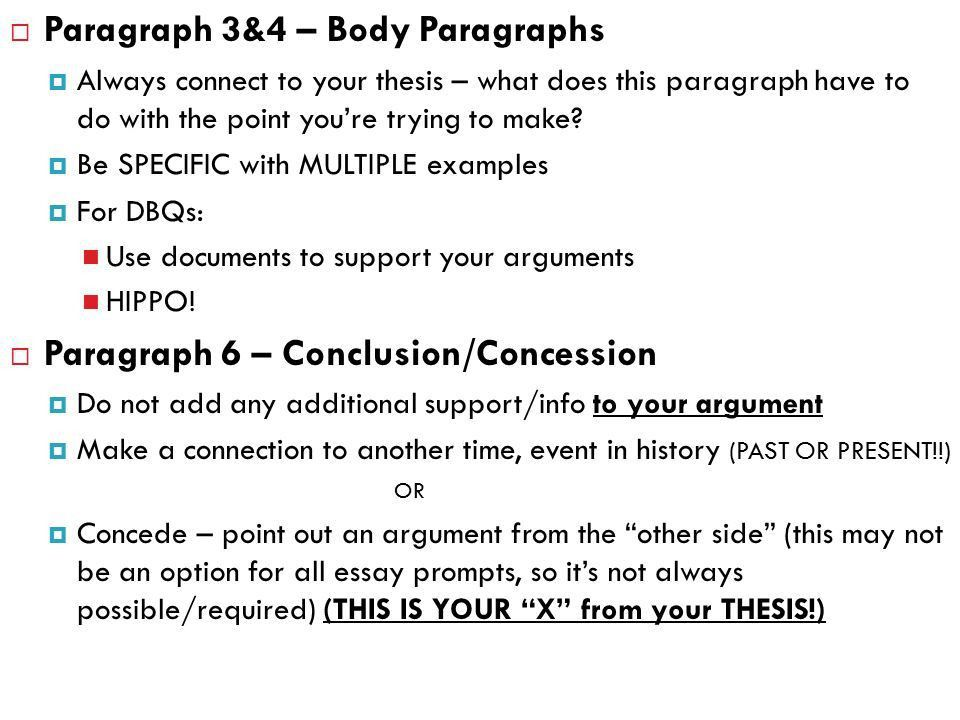 APUSH DBQ WRITING WORKSHOP. Document Based Question  15 minute ...