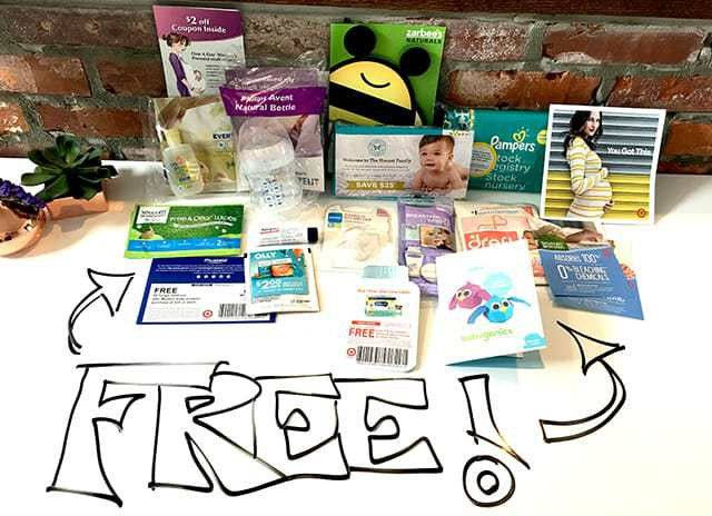 Want Free Baby Stuff? 12 Freebies for New & Expecting Moms
