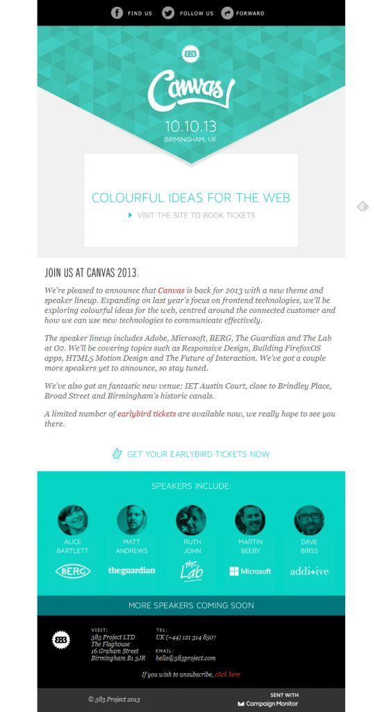 29 best Email Design images on Pinterest | Email design, Email ...