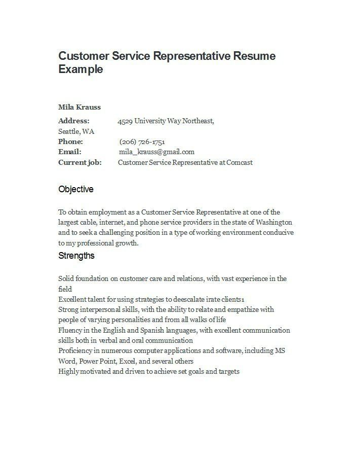 resume templates customer service representative unforgettable