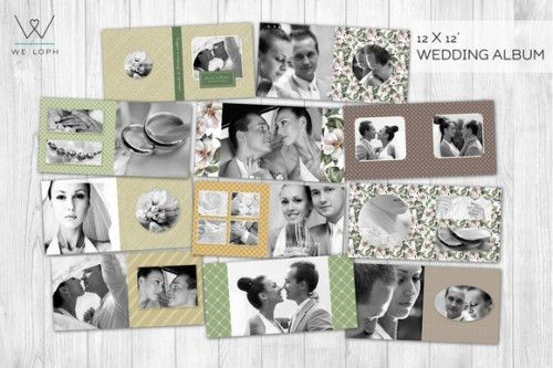 Wedding Album Templates: We Found The Most Beautifully Elegant Choices