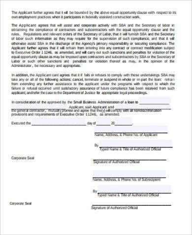 business contract agreement