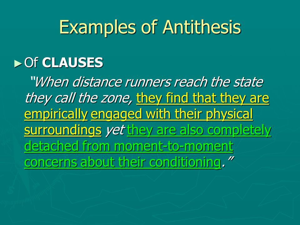 Rhetorical Devices AP Language. Schemes involving Balance ...