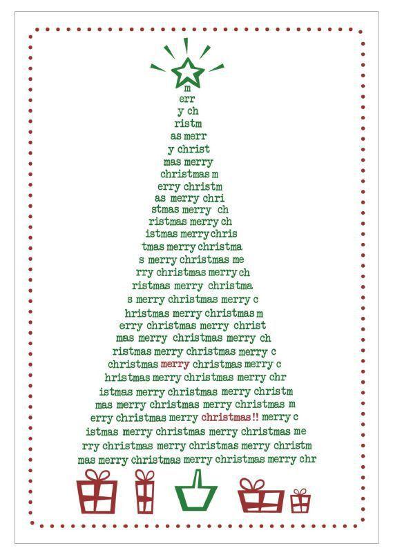 Free, Printable Christmas Cards to Send to Everyone