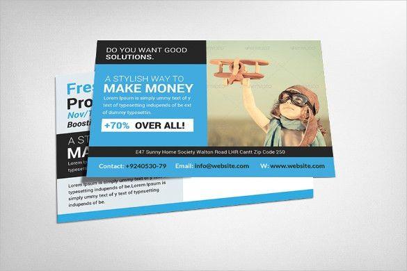 Postcard Marketing Template – 17+ Free Word, PSD, Vector EPS, AI ...