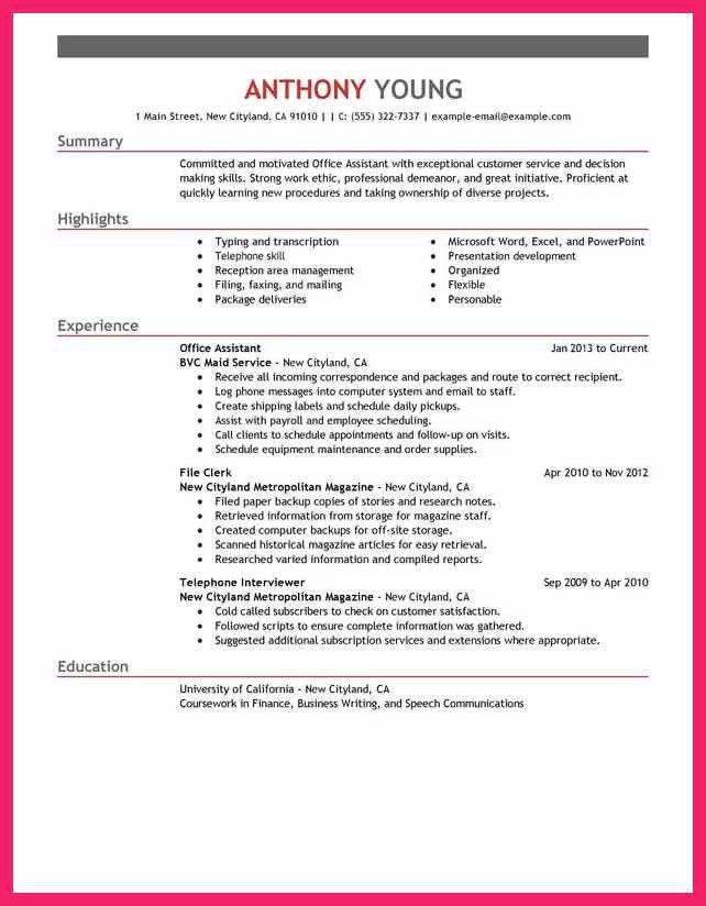 Phone Interviewer Job Description For Resume - Duevia.com