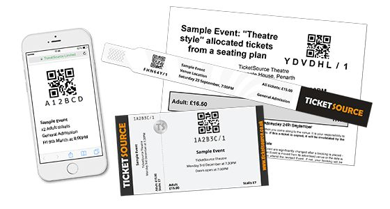 TicketSource: Browse Features