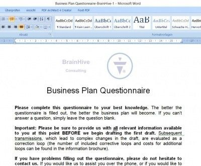 Free Financial Plan Template Excel and PDF Download for Business Plan