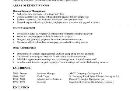 Military Pilot Resume Formats - Reentrycorps