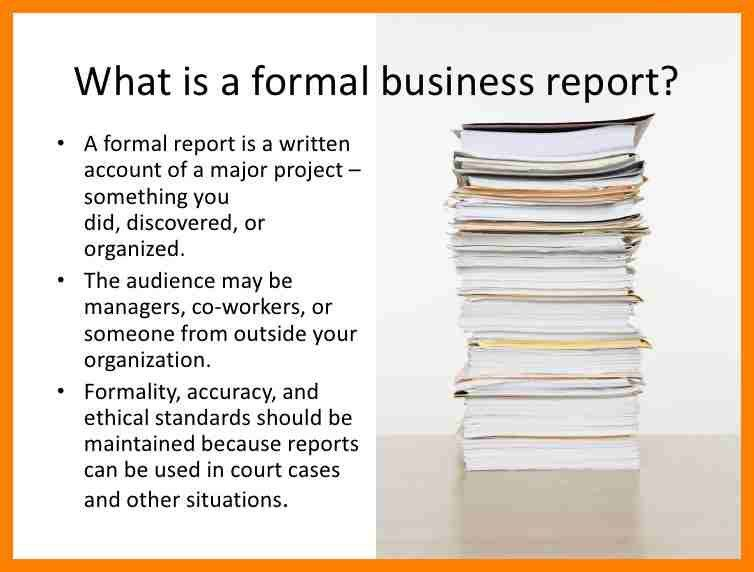 7+ formal business report sample | accept rejection