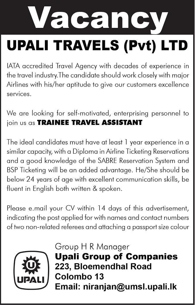 Travel Assistant | EazyJobs