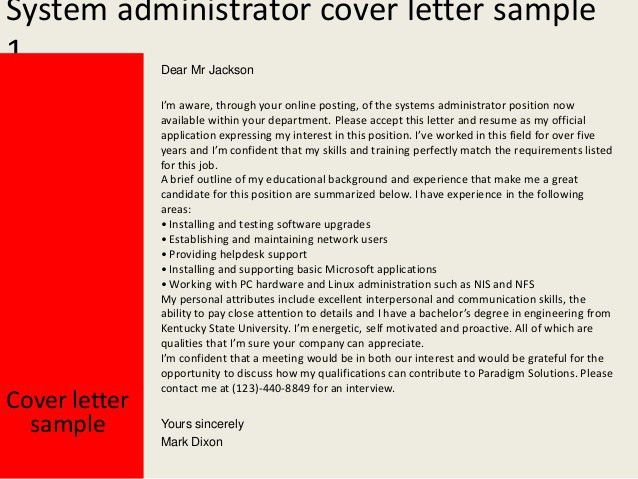 sample resume of system administrator systems administrator