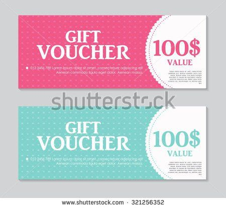 Gift Voucher Template Discount Coupon Spa Stock Vector 579258979 ...