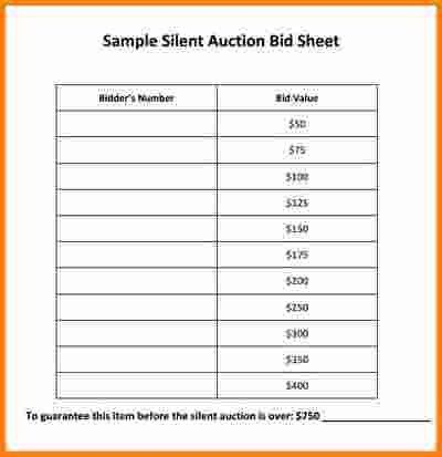 8+ silent auction forms | cashier resume