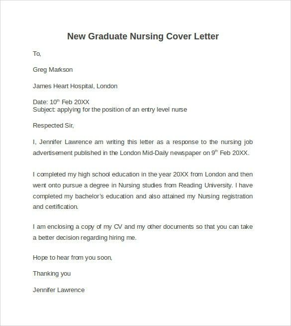 Graduate Nursing Cover Letter. Intensive Care Nurse Resume Sample ...
