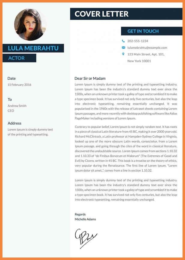 creative cover letters | good resume examples