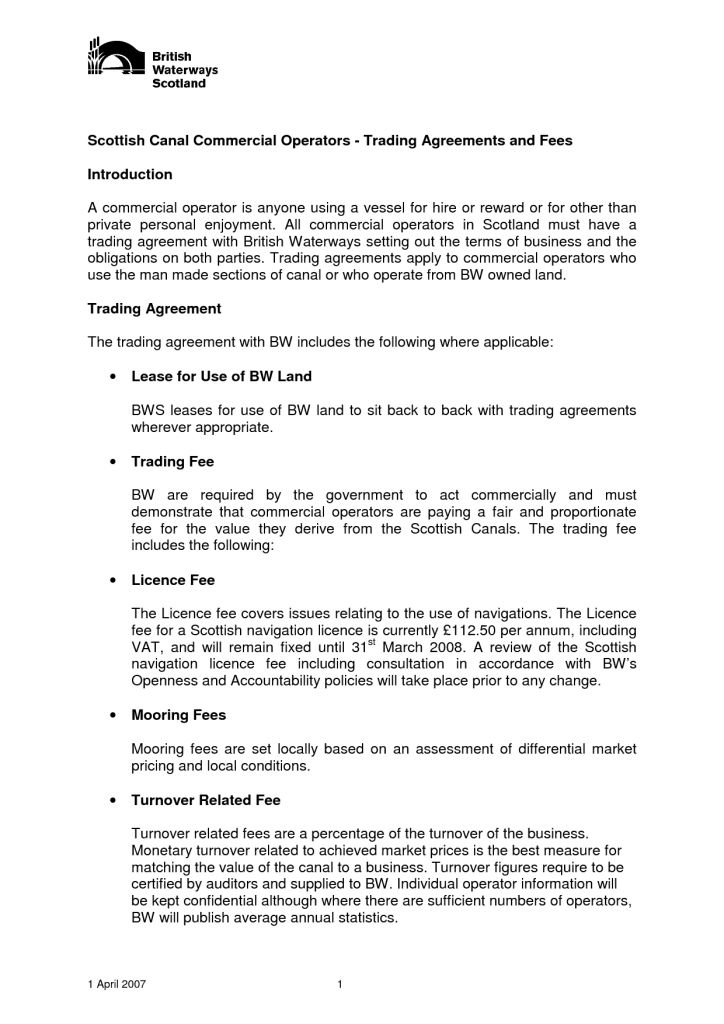 Free Printable Commercial Rental Agreement Template Samples : Vlcpeque