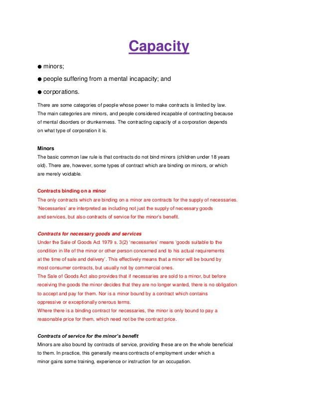 Law notes ( Torts and Contract)