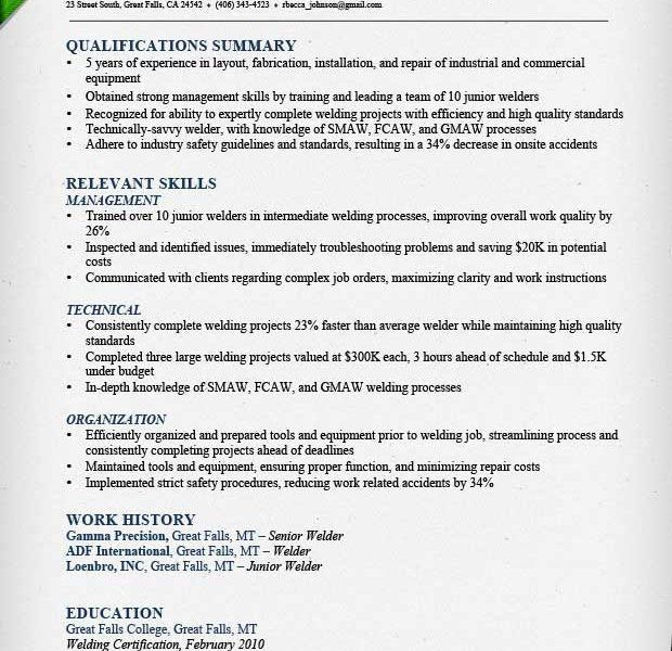 Construction Resume Example. Construction Resume Sample Simple ...