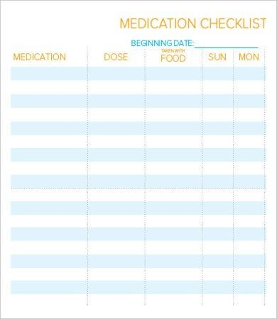 Daily Checklist Template - 10+ Free PDF Documents Download | Free ...