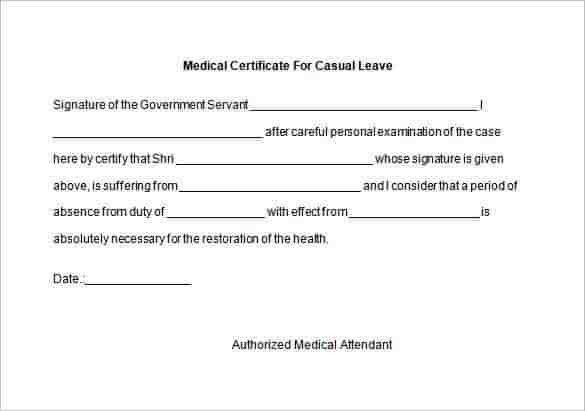 Medical certificate template medical certificate template 20 free medical certificate template 20 free word pdf documents pronofoot35fo Image collections