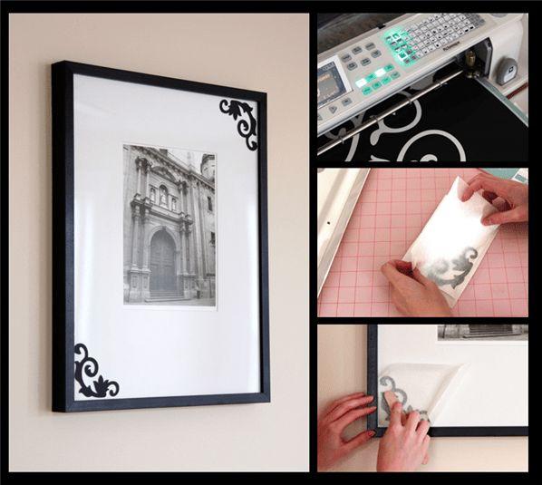 Project Center - Embellished Picture Frame