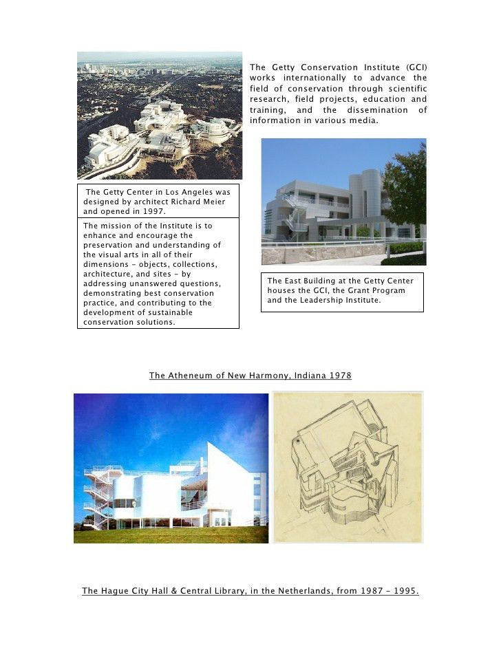 Richard Meier - Architect Case Study