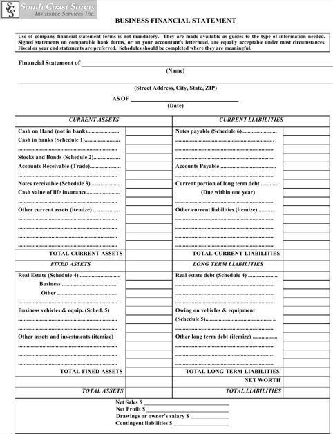 Best 25+ Financial statement pdf ideas on Pinterest | Hud 1 ...