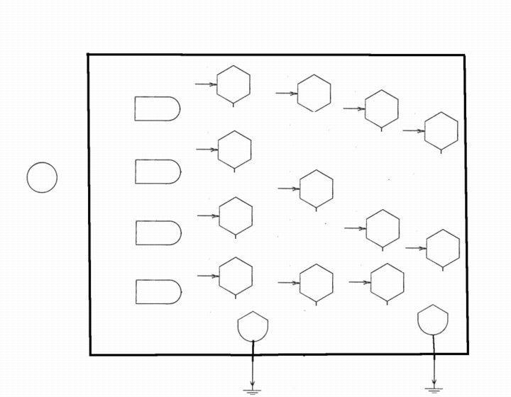 Odum flow diagram