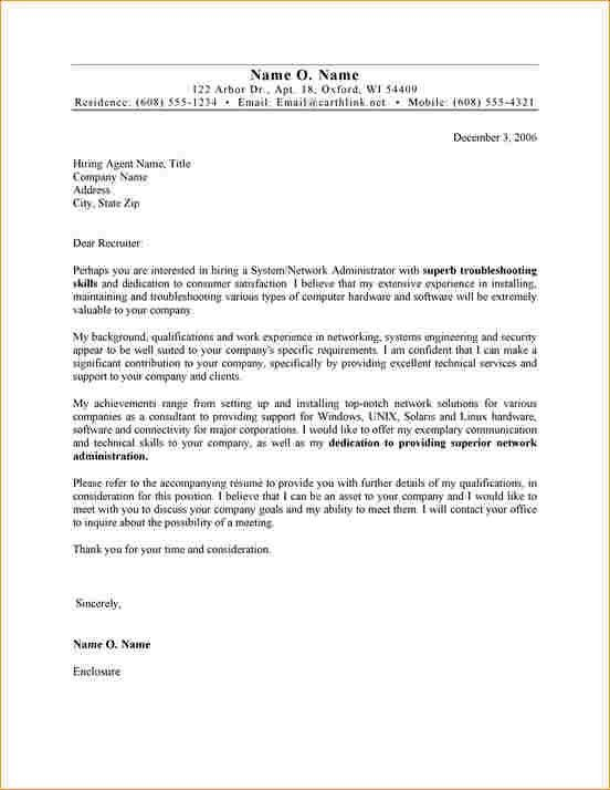 Administrator cover letter no experience - Business Proposal ...